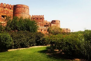 Agra Fort near Gwalior Fort
