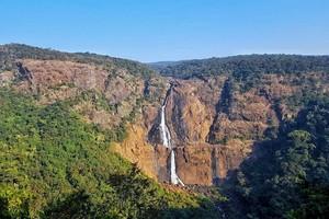 Barehipani Falls near Dimna Lake