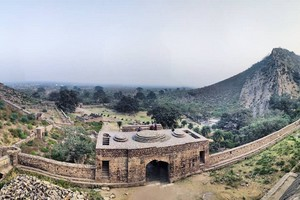 Bhangarh fort near Neemrana Fort Palace
