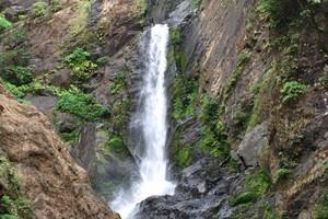 Burude Falls near Benne Hole Falls
