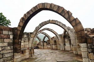 Champaner Pavagadh Archaeological Park near Archaeological remains of Lothal