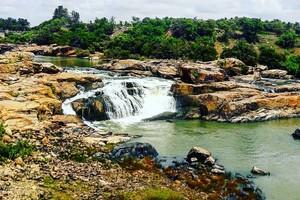Chunchanakatte Falls near Hemavathi Reservoir