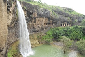 Ellora Caves near Lonar Lake