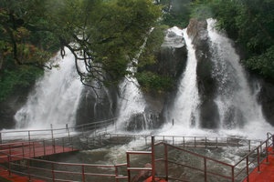 Courtallam Waterfalls near Periyar National Park