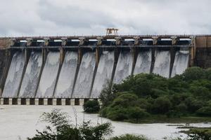 Ghataprabha Reservoir near Sogal Falls