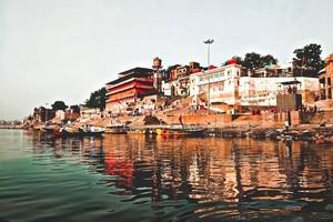 Ghats at Varanasi, Varanasi, Varanasi