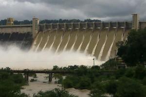Govind Ballabh Pant Sagar Dam near Ghats at Varanasi