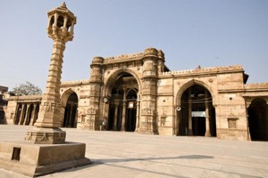 Historic City of Ahmedabad near Champaner Pavagadh Archaeological Park