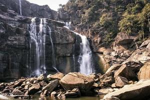 Hundru Falls near Lodh Falls