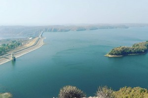 Kadana dam near Historic City of Ahmedabad