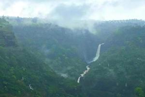 Kune Falls near Visapur Fort