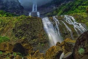 Kynrem Falls near Langshiang Falls