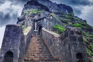 Lohagad Fort near Visapur Fort