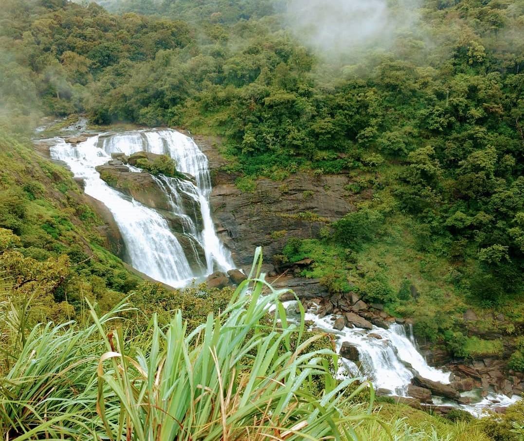 Mallalli Falls near Hemavathi Reservoir