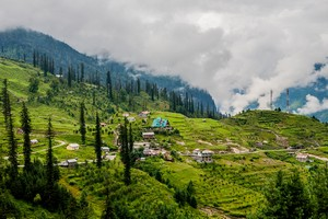 Manali near Tso Moriri Lake