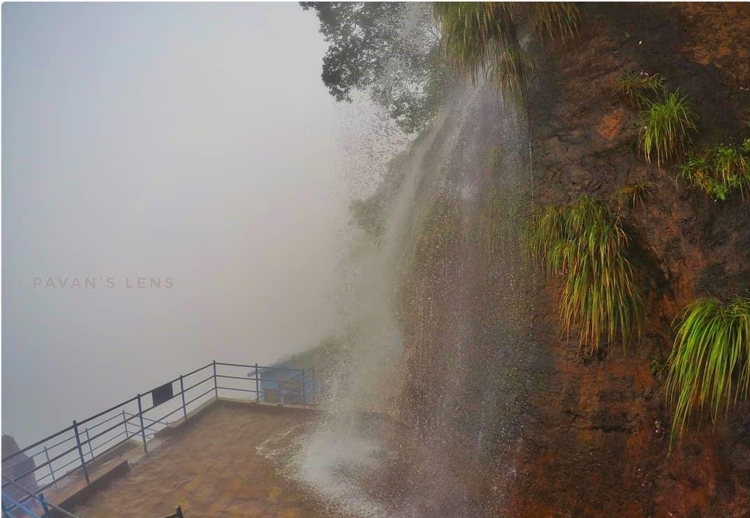Manikyadhara Falls near Bhadra Wildlife Sanctuary
