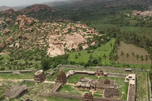 Matanga Hill near Hampi