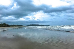 Morjim Beach near Tarkarli Beach