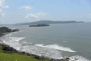 Murud Beach near Padmadurg Fort
