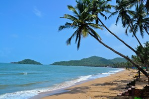 Palolem Beach near Butterfly Beach