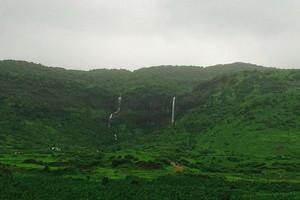 Pandavgad Falls near Elephanta Caves