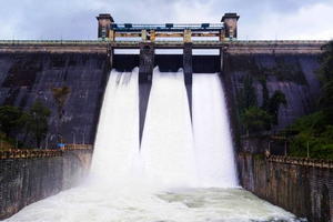 Parambikulam Dam near Athirappilly Waterfalls