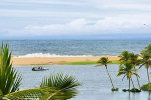 Poovar Island, Golden Sand Beach