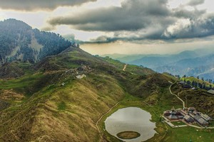 Prashar Lake near Manali