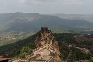 Pratapgad Fort near Koyna Wildlife Sanctuary