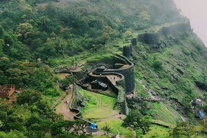 Raigad Fort near Padmadurg Fort