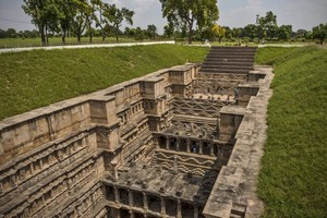Rani Ki Vav or The Queens Stepwell near Dantiwada Dam