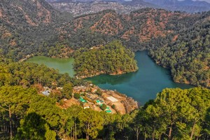 Sattal Lake near Nainital