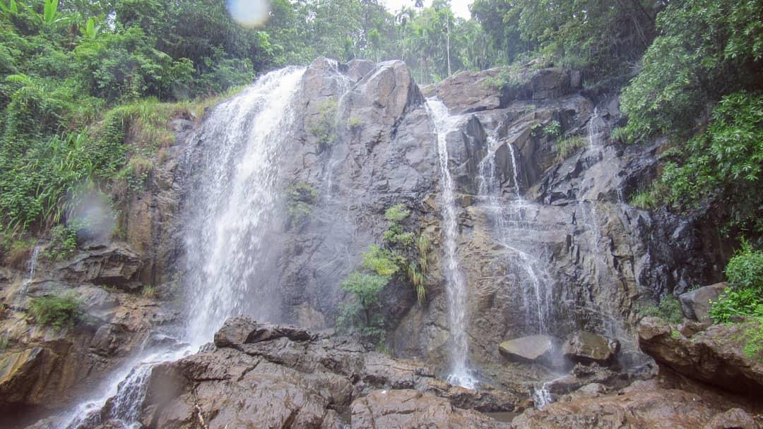 Shirley Falls near Shivapura Hanging Bridge