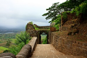 Shivneri Fort near Umbrella Falls