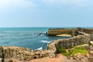 Sindhudurg Fort near Tarkarli Beach