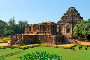 Sun Temple Konark near Gopalpur Beach