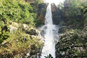 Talakona falls near Gandipalem Reservoir