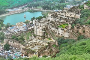 Taragarh Fort,  Star Fort, Bundi