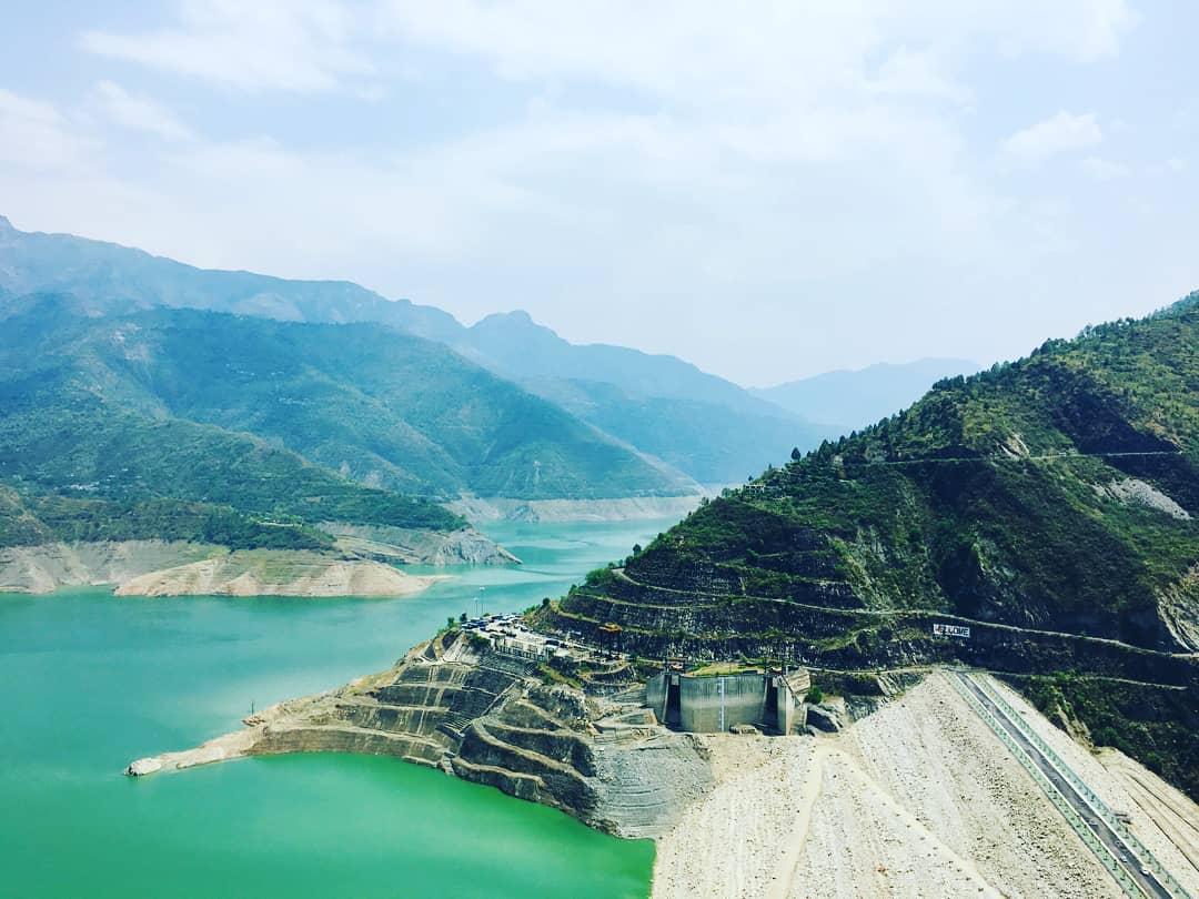 Tehri Dam near Valley of Flowers National Park