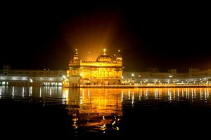 The Golden Temple Amritsar, Harmandir Sahib or Darbar Sahib or Gurdwara , Amritsar