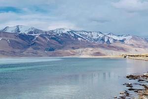 Tso Moriri Lake near Leh Ladakh