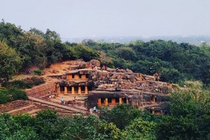 Udayagiri Caves near The Great Stupa Sanchi