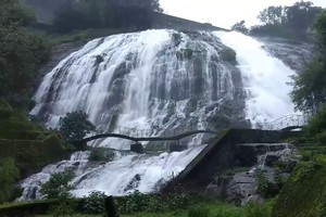 Umbrella Falls near Shivneri Fort