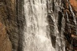 Unchalli Falls near Burude Falls