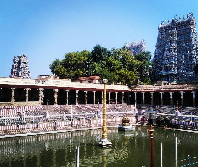 Meenakshi Amman Temple, Meenakshi-Sundareshwara