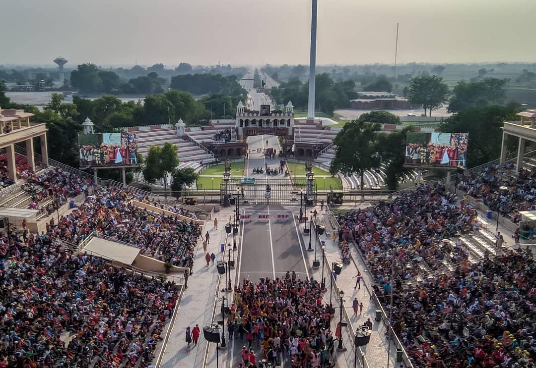 Wagah Attari Border Ceremony, Wagah Border